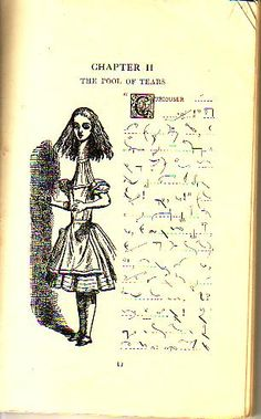 Alice in shorthand