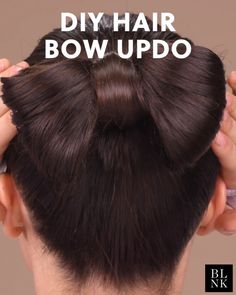 How to do a hair bow updo hairbow hairtutorial updos bowhairstyle Pretty Hairstyles, Braided Hairstyles, Wedding Hairstyles, How To Do Hairstyles, Straight Hairstyles, Office Hairstyles, Teenage Hairstyles, Vintage Hairstyles, Hair Videos