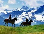 Mountain Horse Pack Trips. BC Mountain Pack Tours. Trail Riding Packages :: Tyslos Park Lodge