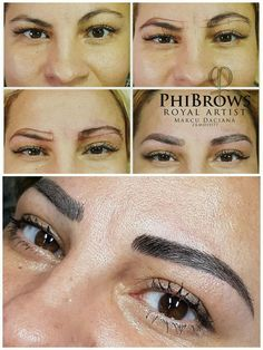 perfect-eyebrows-made-easy-with-semi-permanent-make-up - More Beautiful Me 1 Eyebrows On Fleek, Perfect Eyebrows, Eyebrow Before And After, Firming Eye Cream, Best Salon, Eyebrow Tutorial, Threading Eyebrows, Best Eyebrow Products, My Makeup Collection