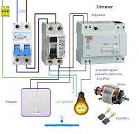 Esquemas eléctricos: Esquema eléctrico Dimmer