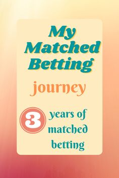 Matched betting from sign up to expert. What to expect from matched betting in the long term. #matchedbetting #makemoneyonline #sidehustle Make Money Online, How To Make Money, Matched Betting, Free Cash, Comparing Yourself To Others, Bank Card, Credit Score, Book Making