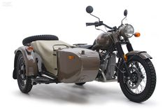 Ural Motorcycle, Russian Army copy of the famous WWII German two wheel drive BMW scout bike.