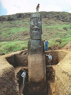 Archaeologists have known since 1919 that Easter Island's heads have bodies. Did you?    Read more: http://www.news.com.au/travel/world/archaeological-dig-reveals-that-easter-island-heads-have-bodies-too/story-e6frfqai-1226478668649#ixzz2J7s97O7a