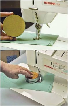 Sewing Techniques Couture How To Easily Sew Circles - I love to sew. That being said, I rarely have time these days between work and family. Well, I have a treat for all of you like me who just really need sewing to be Sewing Hacks, Sewing Tutorials, Sewing Crafts, Sewing Tips, Sewing Ideas, Diy Crafts, Sewing Basics, Sewing Lessons, Sewing Essentials