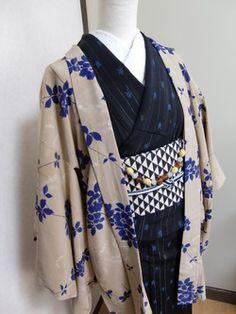 トトロ箱:アンティーク羽織&羽織紐セット♪