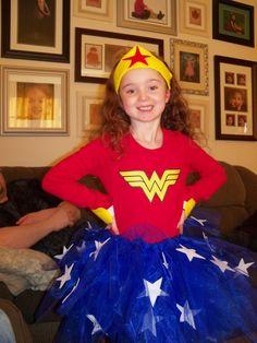 Wonder Woman costume - EJ has already decided on Halloween