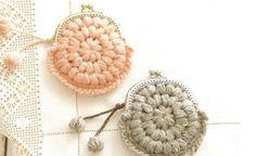 20 new Ideas for crochet patrones monederos Love Crochet, Beautiful Crochet, Diy Crochet, Simple Crochet, Crochet Bags, Crochet Ideas, Purse Patterns, Crochet Patterns, Crochet Wedding Dresses