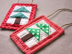 Earlier this week I shared some little patchwork tree blocks I'd been making. I loved sewing them together into this little patchwork forest mini-quilt. The method for making this blocks is quick and fun and I'm going to show you how right now! (How exciting can life get?) For my palette I chose a variety …