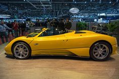 The Pagani Zonda Roadster is still a looker, almost 15 years later - The Verge