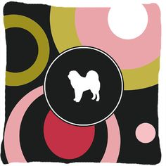 Tibetan Mastiff Indoor/Outdoor Throw Pillow