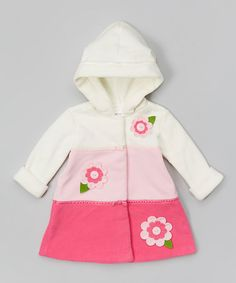 This Fuchsia & Pink Floral Hooded Coat - Infant, Toddler & Girls by Gerson & Gerson is perfect! #zulilyfinds
