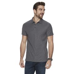 Men's Marc Anthony Luxury+ Solid Slim-Fit Modal Polo,