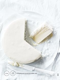 Limoncello and Coconut Ice Cream Cake: Donna Hay