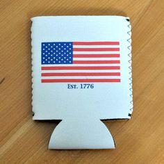 Classic American Flag Koozie