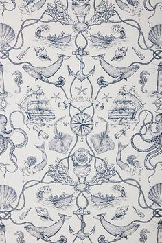 Some of the common kinds of wallpaper at this time is nautical wallpaper. When many individuals cons. Nautical Wallpaper, More Wallpaper, Striped Wallpaper, Print Wallpaper, Bathroom Wallpaper, Pattern Wallpaper, Summer Wallpaper, Marinha Wallpaper, Tela