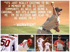 Adam Wainwright!