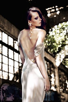 Editorial Fashion Dress Violet