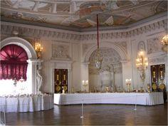 Grand Palais - Intérieur - Pavlovsk - La Salle du Trône - Décorée par Vincenzo Brenna entre 1797 et 1799.