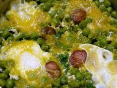 Green Peas and Chouriço (Ervilhas com Chouriço) - Easy Portuguese Recipes