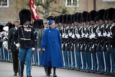 On November Danish Queen Margrethe attended the Royal Life Guard Parade 2016 at their barracks in Copenhagen, Denmark. The occasion for the parade and the Queen's attendance was the end of the soldiers duty period. Copenhagen Style, Copenhagen Denmark, Christian Ix, Queen Margrethe Ii, Danish Royalty, Hm The Queen, Royal Guard, Danish Royal Family, Fun World