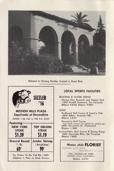 Mission Hills promotional guide, circa 1964 :: San Fernando Valley History
