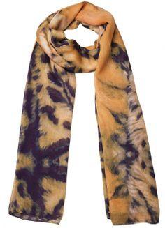 Leopard Affairs Scarf