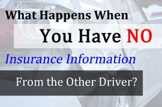 No Insurance Information? How Do You File an Accident Claim? | The Miley Legal Group
