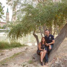 Carlos y Eva, Preboda en la ribera del ebro, zaragoza.