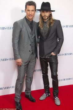Jared Leto and Matthew McConaughey: They will both get Oscars for Dallas Buyers Club!