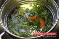 Chicken Stock Recipe  |  Lori Danelle