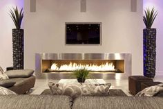 wallmount fireplace - Google Search