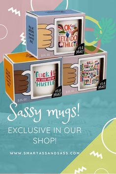 Cream and sugar? If funny coffee mugs are your vice, we've got a few shop-exclusive mugs in our shop now which we think you'll wanna see. FOMO   While supplies last   Shop   Birthday   Holiday   Mother's Day   Shopping   Gift   Ideas   List   Guide   For women   For Her   For mom