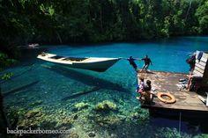 Labuan Cermin / Miror Port, Borneo, Indonesia