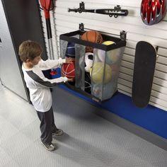 Attractive 5 Different Garage Ball Storage Ideas   Http://rodican.com/garage
