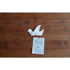 White Bird Pop-Up Card