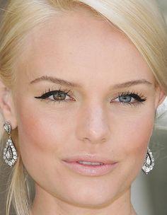 WEDDING makeup (not as dark eyeliner) Kate Bosworth makeup by raychylle, via Flickr