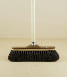 Horse-hair broom