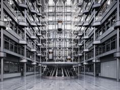 Self-taught photographer Thibaud Poirier highlights the majestic symmetry of the interior architecture of buildings in Berlin.