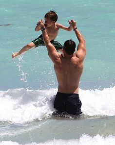Father and son, I see Jared doing this with Ari ;)