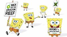Greenpeace have a new spokesperson thanks to Don't Panic....SPONGEBOB #advertising #charity #campaign #cartoon