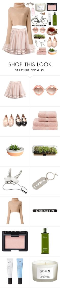 """♡ salutation ♡"" by feels-like-this-could-be-forever ❤ liked on Polyvore featuring RETROSPECS, kenzi w, Christy, Georg Jensen, Chanel, Valentino, Bershka, NARS Cosmetics, Origins and Boots No7"