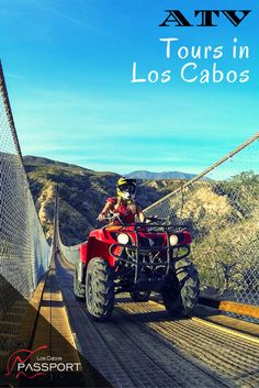ATV Tours in Los Cabos  Cabo is well-known for its ATV tours, extreme sports, Baja adventure tours and fun excursions, such as the off-road excursions to Cabo San Lucas, Migriño and Candelaria.   #Cabo #LosCabos #AdventureActivities