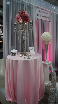 evebt planner bridal booth | Show Wedding Planner Booth | Vancouver Wedding Decorator & Event ...