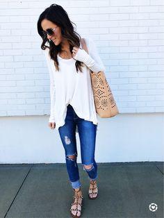 Everyday casual | IG: @Alyson_Haley
