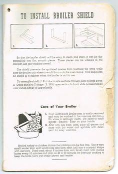 tappn fabulous 400 range owner s manual page 1 tappan fabulous 400 rh pinterest com User Manual User Manual