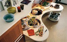 Muebles de cocina para personas en sillas de ruedas - via http://bit.ly/epinner