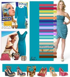 great colors for Bright Springs - intense teal