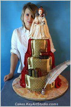Incredible cake. LOVE.