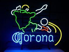 Corona Extra Soccer Neon Sign
